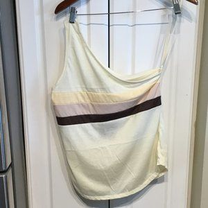 Free People Camp Collection One Shoulder Top
